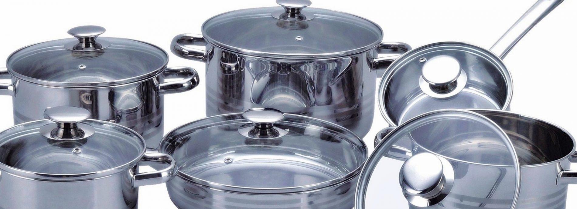 посуда из хрома