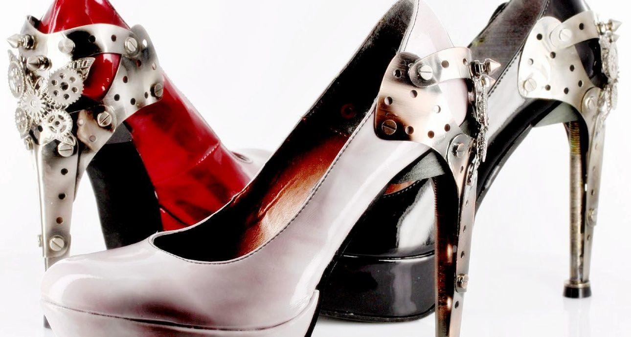 стальные элементы в обуви