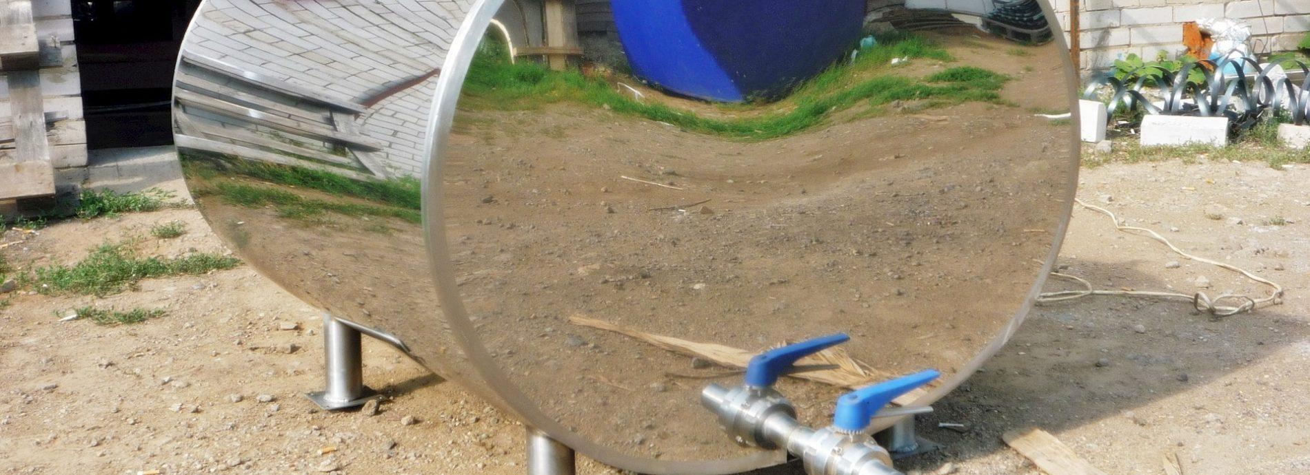 резервуары для воды из нержавейки